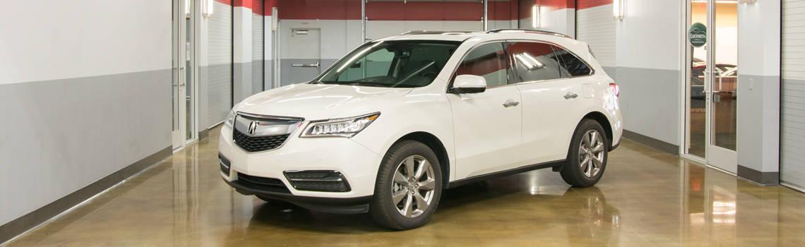 Acura MDX White