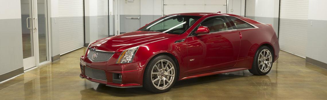 Cadillac CTS-V Coupe Manual