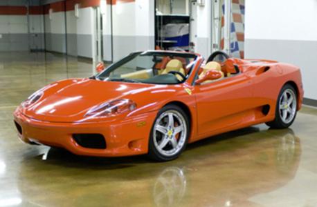 Ferrari f360 spider