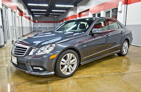 Mercedes benz e350 bluetec