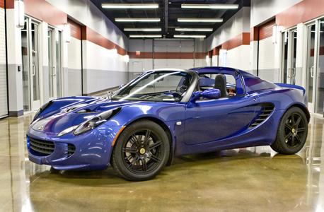Lotus elise blue