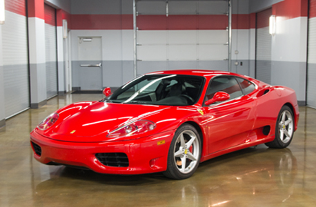 Club sportiva ferrari 360 modena 6 speed manual thumbnail