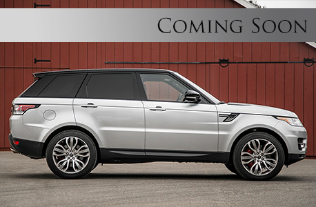 Range rover sport coming soon