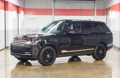 Range rover supercharged thumbnail