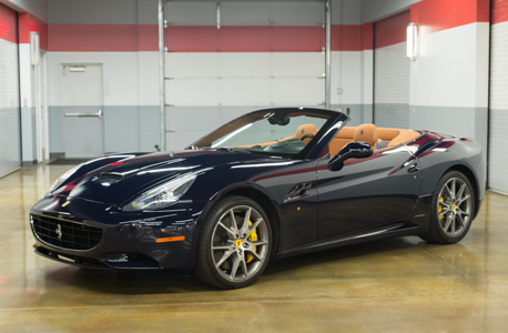 Ferrari california deep blue thumbnail