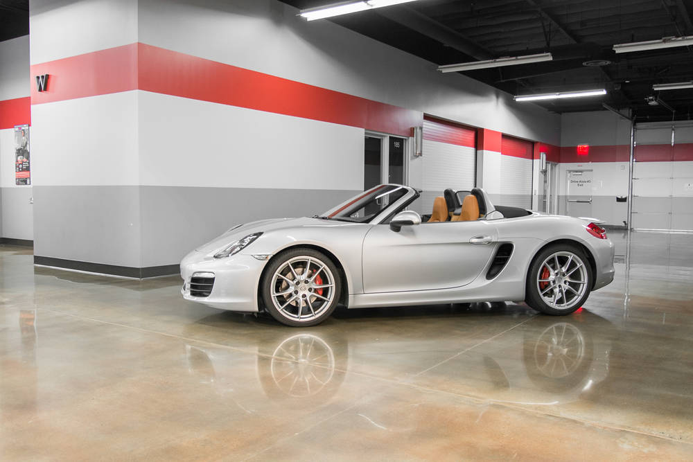 Porsche Boxster S Manual Exotic Car Rental Club Sportiva