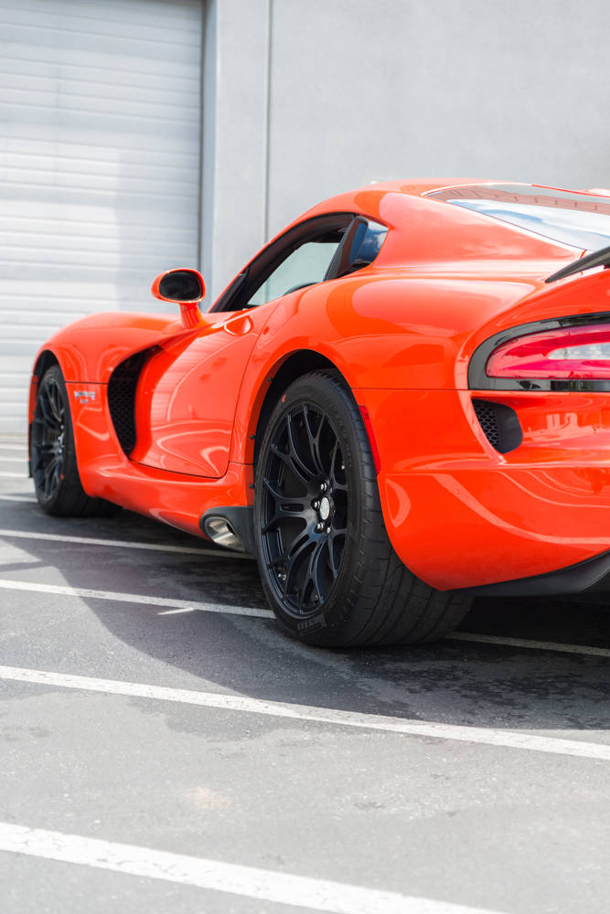 Orange Srt Viper Ta on Dodge Viper Suspension
