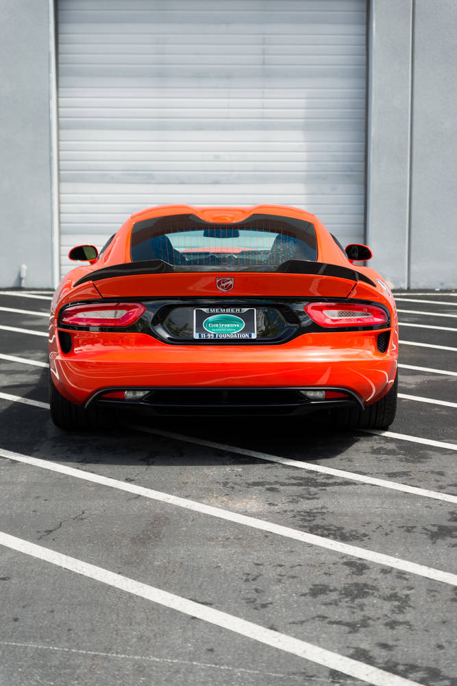 Dodge Viper GT TA   Exotic Car Rental - Club Sportiva