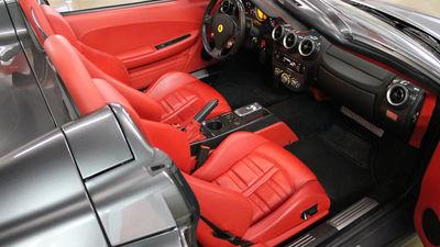 Ferrari f430 spider red interior