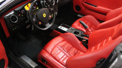 Ferrari f430 spider red interior driverside