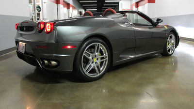 Ferrari f430 spider rear gray