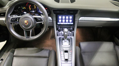 911 cab interior