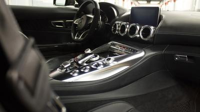 Amg gts interior passenger