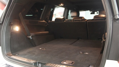 Gls trunk seats down