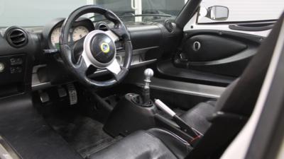 Lotus driver interior