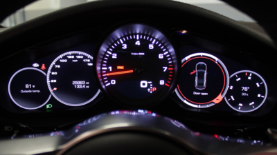 Panamera instrument cluster