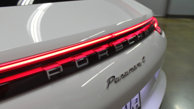 Panamera light bar