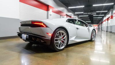 Lamborghini huracan rear iso