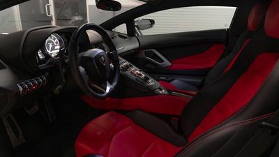 Lamborghini aventador interior full