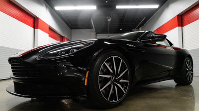 Astonmartin db11 black front tight