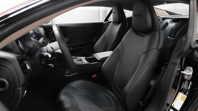 Astonmartin db11 black interior seats