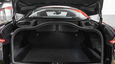 Astonmartin db11 black trunk