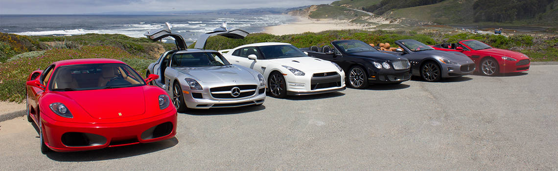 Club sportiva partners vehicles on the california coast
